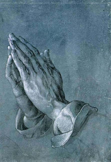 Albrecht Dürer - Hands.                                                                                                                                                                                 More