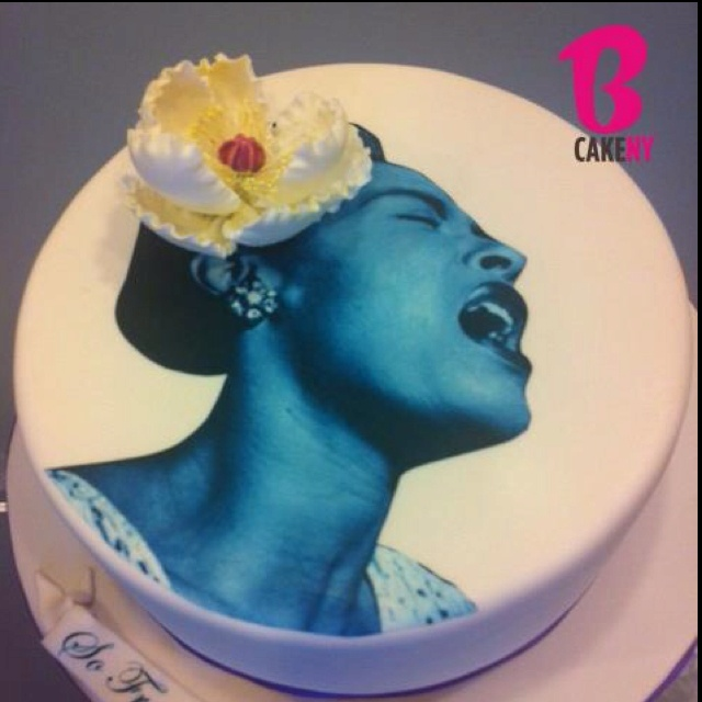 Billie Holiday Cake. Classic. | BCakeNY CAKES | Holiday ...