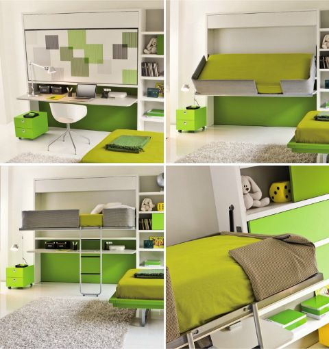 Space Saving Furniture Ideas Loft Bedroom Interiors: 203 Best Images About IMac Desk & Office Ideas On