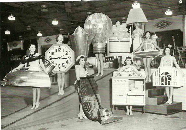 Girls Dressed as Appliances at the Los Angeles Electrical Exposition - Retronaut