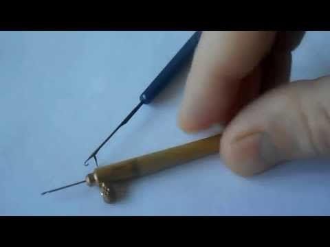 Люневильская вышивка от Виктории Бойко (вышивка люневильским крючком в авторской интерпретации ) - YouTube
