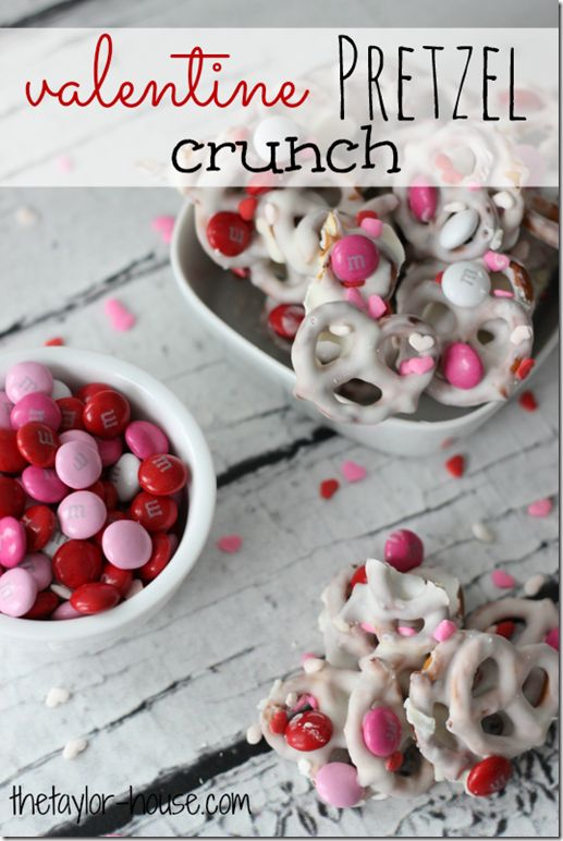 Valentine's Day Treats: Valentine Pretzel Crunch