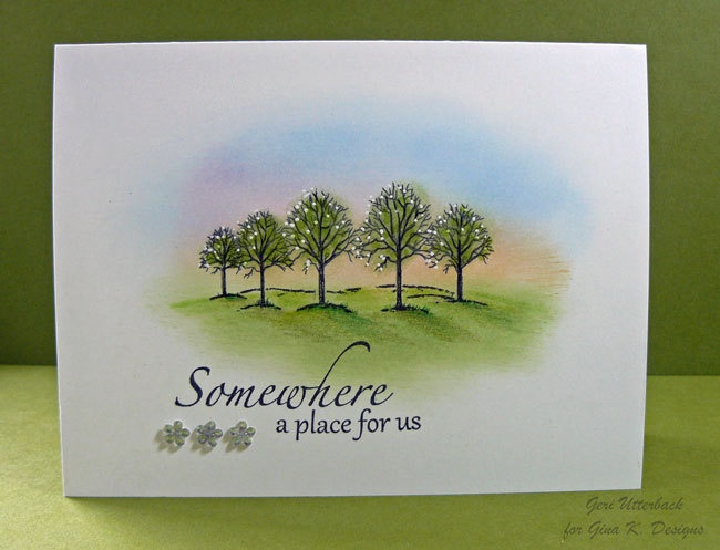 Card Making Ideas Gina K Part - 25: The Northwoods, Gina K. Designs