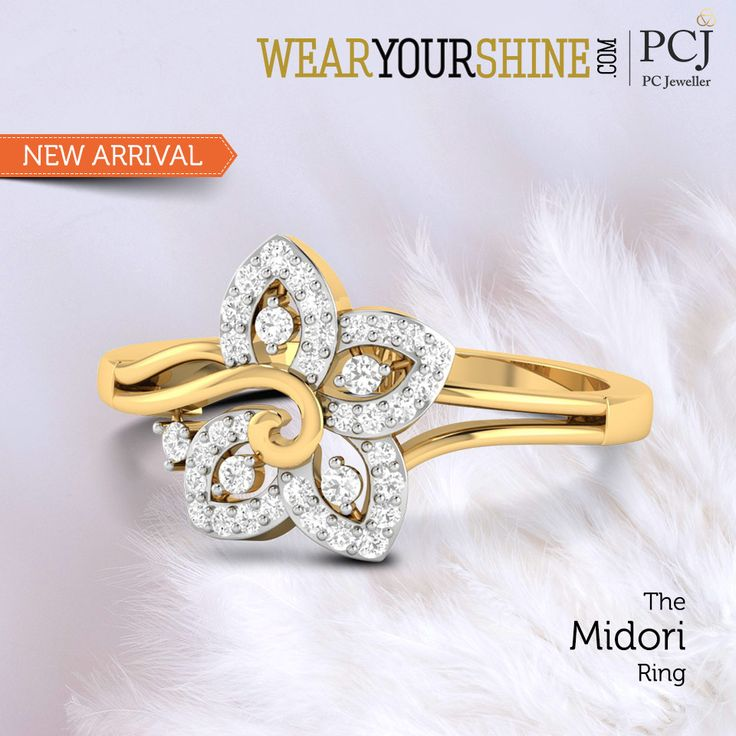 "We accept the love we think we deserve and you certainly deserve it with ""The Midori Ring"" By WYS  #WearYourShine #PCJeweller #LoveForRings #Diamonds #Rings #IndianJewellery #Jewellery #Happiness #Trends #WYS #Love #Jewelry"