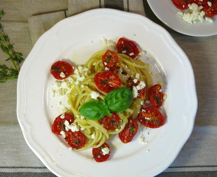La mia pasta alla Norma, a cavallo di due culture, utilizza gli stessi ingredienti di base, melanzane e pomodoro, ma in una realizzazione capovolta...
