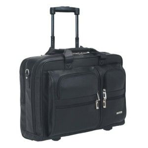 SOLO Classic Collection D957-4 Rolling Briefcase