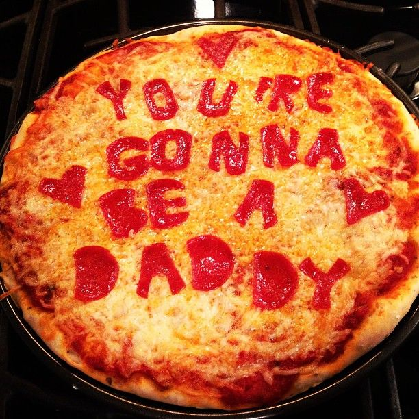 This is pretty neat idea since trevers favorite thing is pizza! i would change the wording a little lol