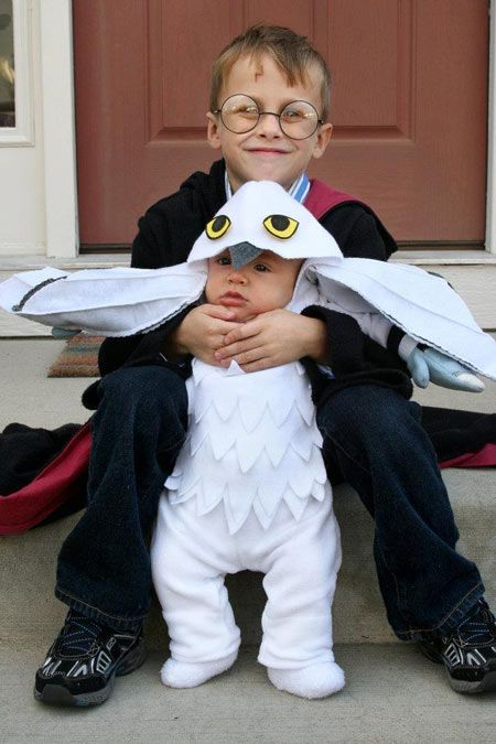Harry Potter and Hedwig Costumes.