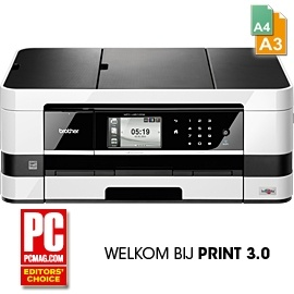 5 in 1 - Netwerk A4/A3 kleurenprinter - flatbed kleurencopier - kleurenscanner - kleurenfax - Media Card Centre - interne duplexunit