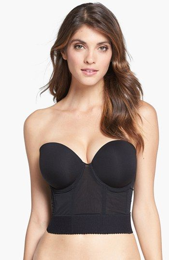 Wacoal 'Red Carpet' Longline Strapless Bra available at #Nordstrom