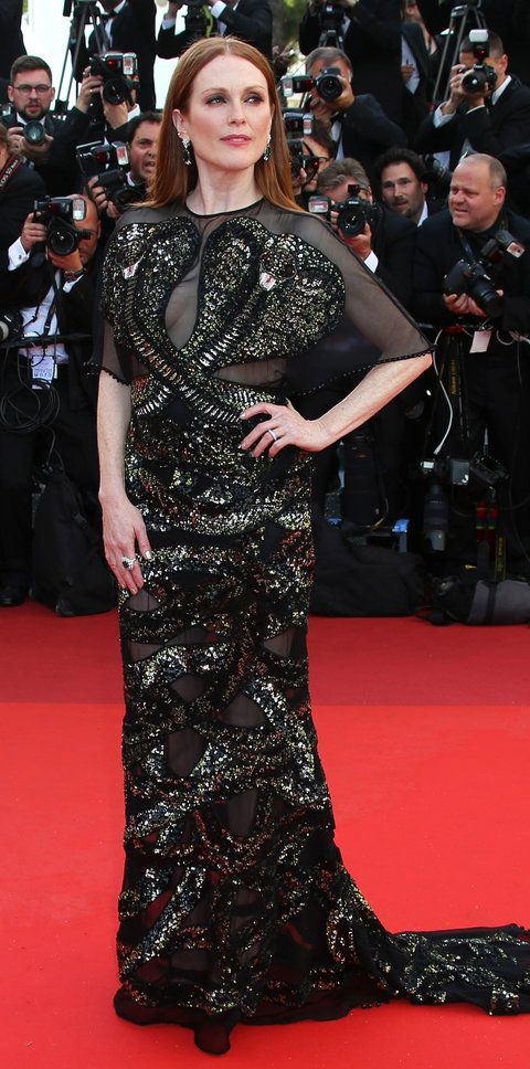 Julianne Moore in Givenchy. Cannes Film Festival 2016 Red Carpet | InStyle.com