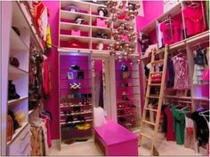 Walk In Closets For Girls How To Design For Best Girls Walk In