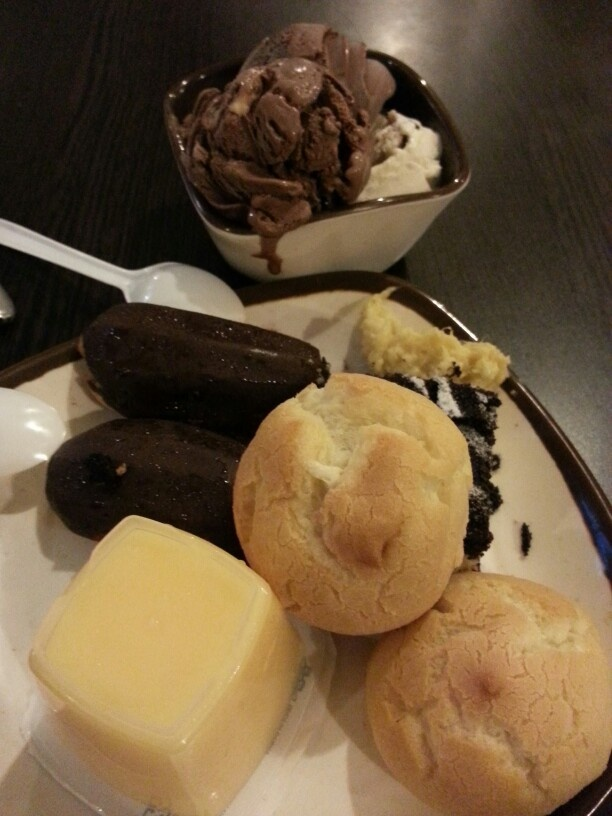 dessert at Sakura buffet