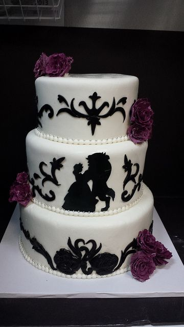 Beauty & The Beast cake.