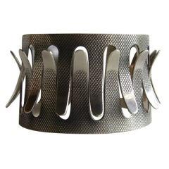 GRETE PRYTZ KITTELSEN for TOSTRUP Sterling Silver Cuff Bracelet