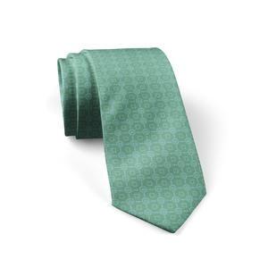 """Silk Tie """"Olympus"""" Cyclades"""