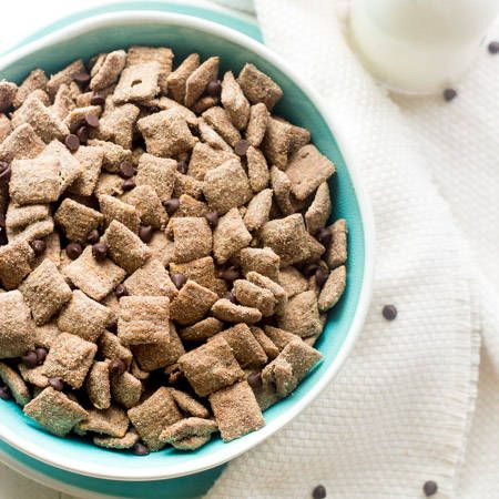 Protein Puppy Chow Recipe {High Protein, GF, Naturally Sweetened   Super Simple} via @FoodFaithFit