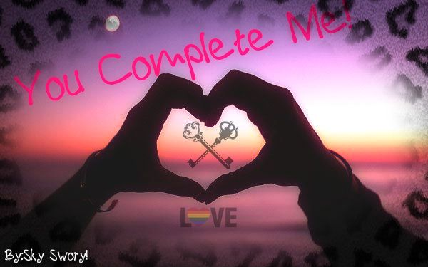 u complete me