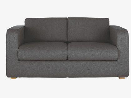 #ourHabitat PORTO Charcoal fabric 2 seater sofa bed  #ourHabitat