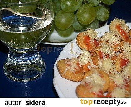 langoše jednohubky k vínu