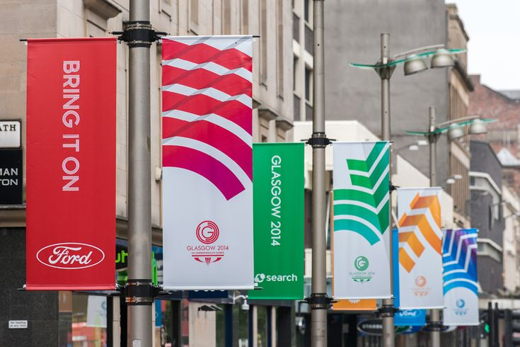 Brand New: New Look of the Games for 2014 Commonwealth Games by Tangent