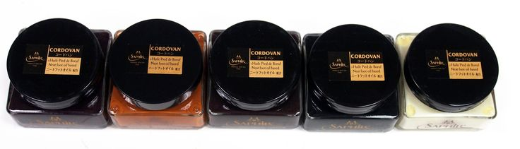 Saphir Medaille d'Or 1925 Cordovan Cream for Cordovan Leather - 75ml Jar - All Colors