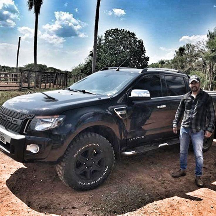 """420 curtidas, 1 comentários - Ford Ranger Trucks® (@fordrangertrucks) no Instagram: """"FRT® 📑 RANGER do nosso parceiro @brunoalmeida_64 ➖➖➖ 🚘 Ford / Nova Ranger CD LTD ⚙️ Motor 3.2 200cv…"""""""