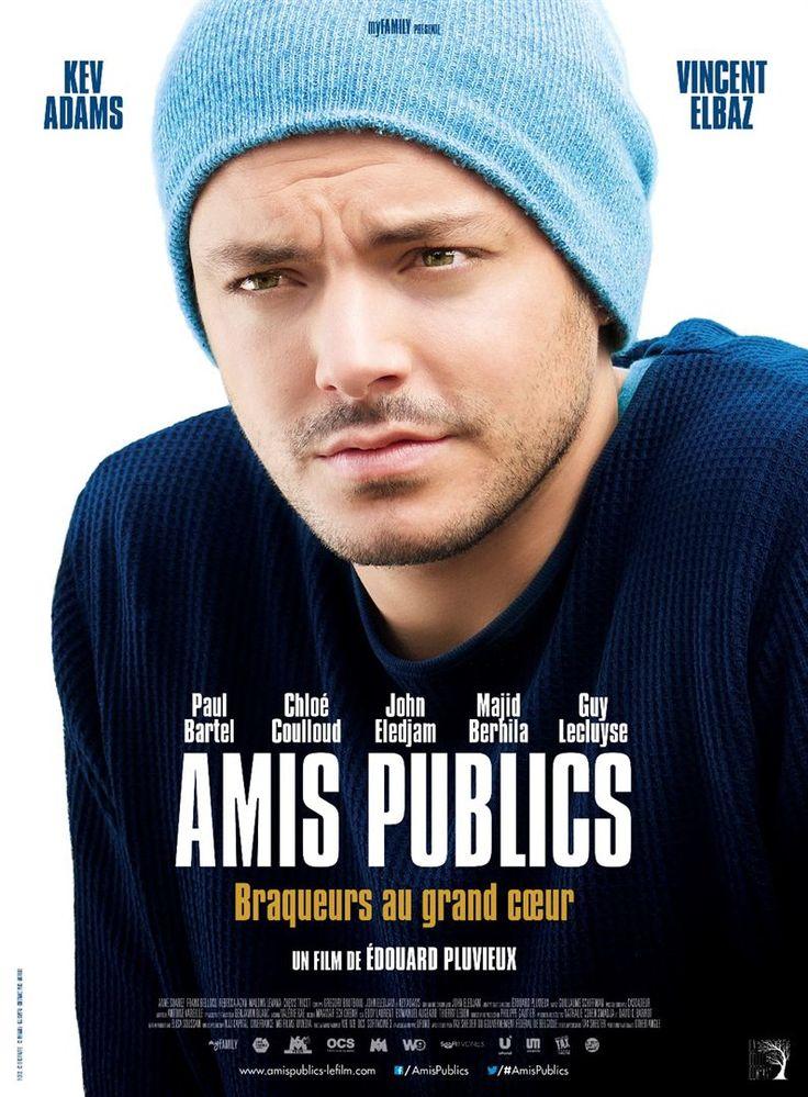 """♥♥♥ """"Amis publics"""" , une comédie d'Edouard Pluvieux avec Kev Adams, Vincent Elbaz, Paul Bartel... (02/2016)"""