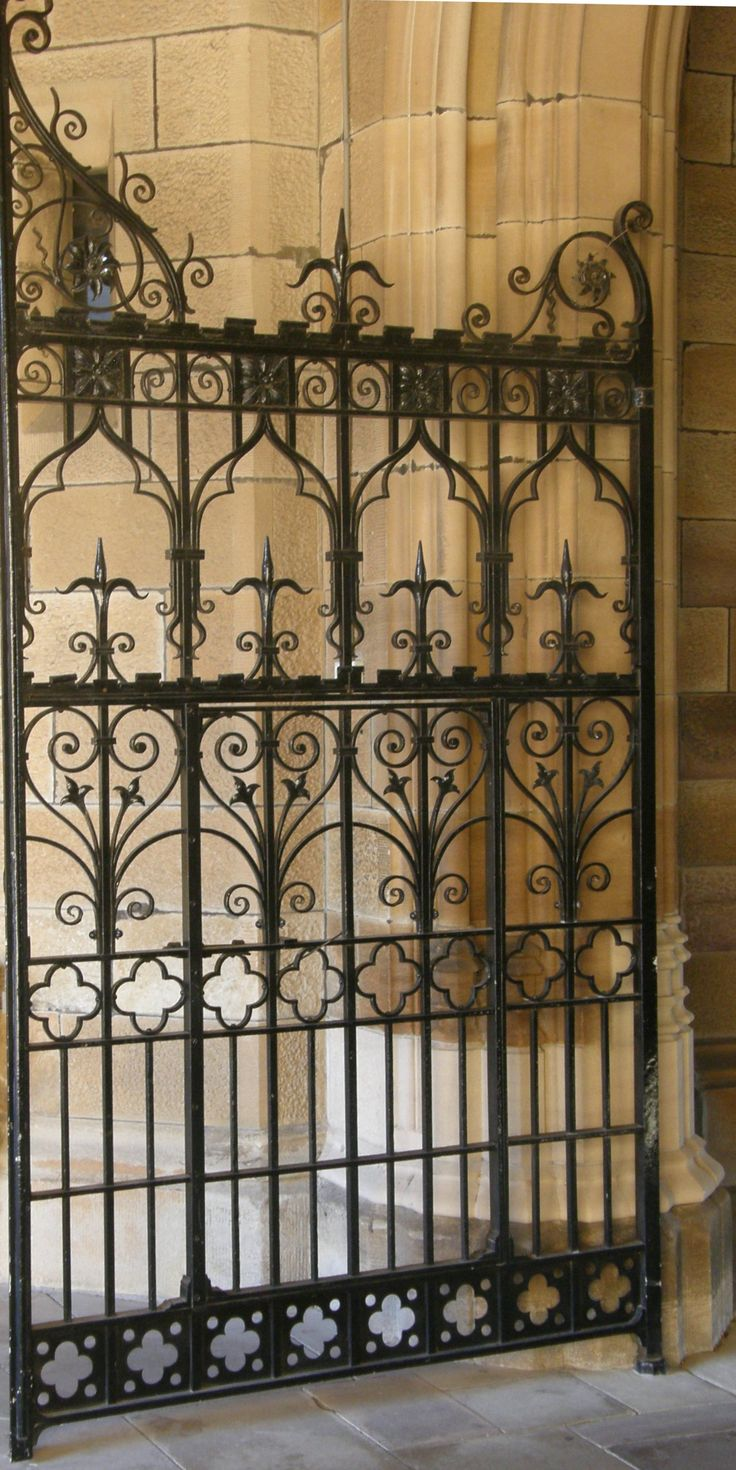 Pin antique garden gates in wrought iron an art nouveau style on - Find This Pin And More On Metal Gates Beautiful Wrought Iron