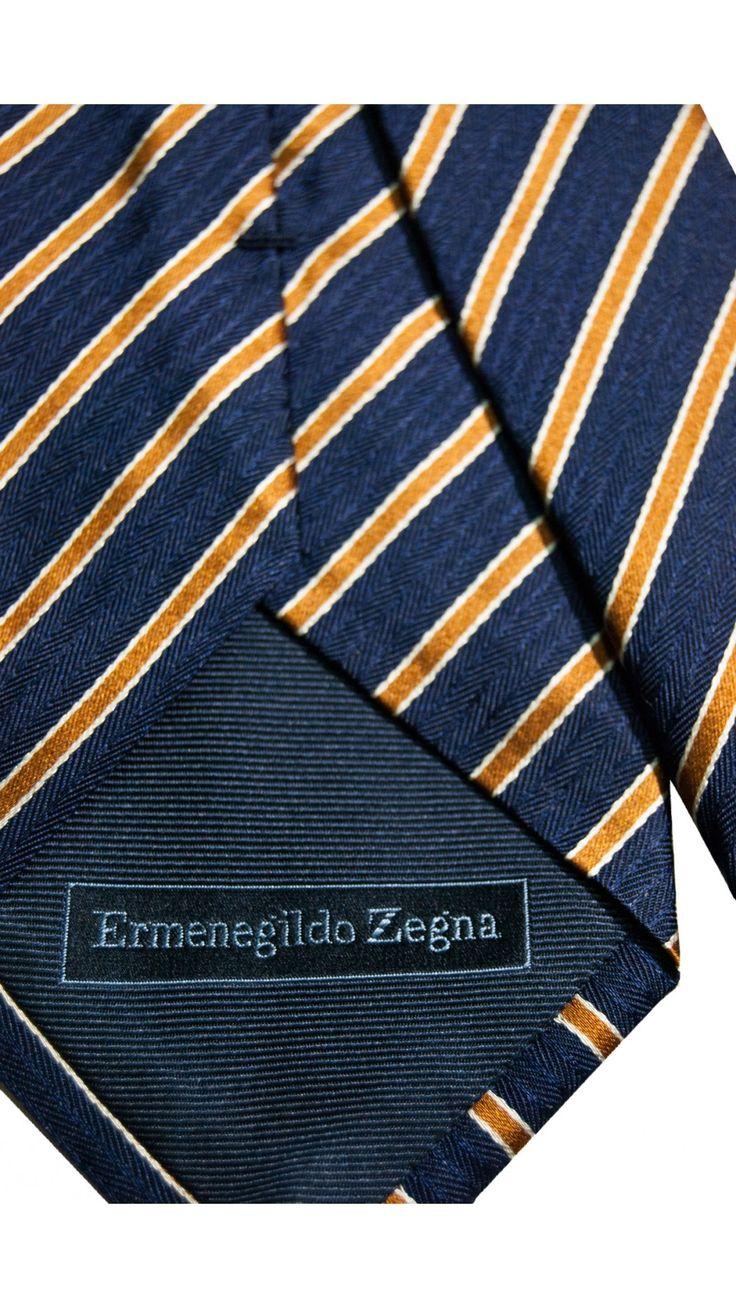 Cravatta ZEGNA Sartoriale Seta MADE IN ITALY www.fevoutlet.com