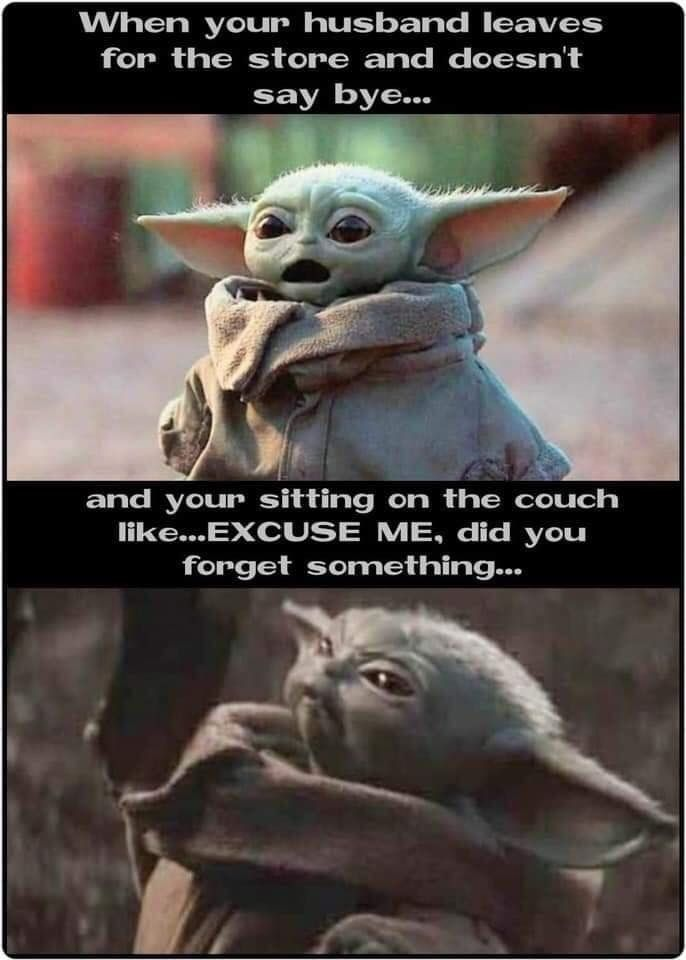 2 991 Likes 9 Comments Baby Yoda It Memes Babyyodaitmemes On Instagram Give Baby Yoda Some Love And F Yoda Funny Funny Star Wars Memes Star Wars Memes