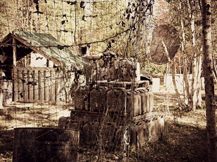 Venez jouer sur le «Camp Militaire». L'automne, c'est parfait! - PCRS www.paintballrivesud.com