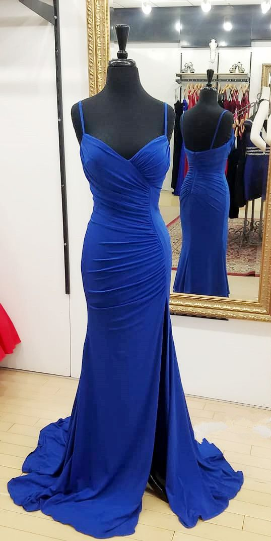 Royal+Blue+Mermaid+Long+Prom+Dresses,+2018+Straps+Long+Prom+Dresses,+Formal+Evening+Dresses    My+email:+<b>modsele.com@hotmail.com</b>    1.+Besides+the+picture+color,+you+can+refer+to+our+color+swatch+to+choose+any+color+you+want.  2.+Besides+stand+size+2-16,+we+still+offer+free+custom+size,+wh...