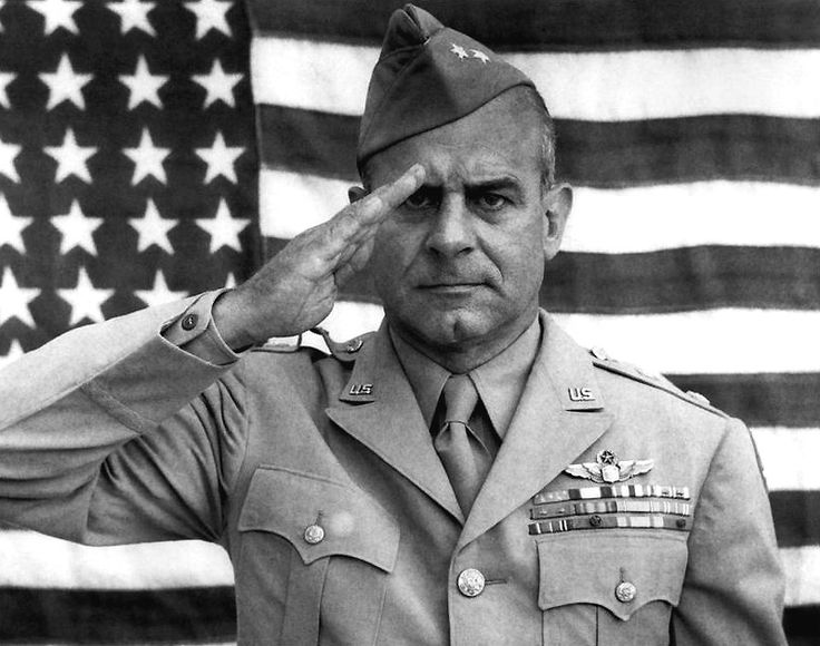 """General James """"Jimmy"""" Doolittle (1896-1993) was an American aviation pioneer. Doolittle served as an officer in the United States Army Air Forces during World War II. He earned the Medal of Honor for his valor and leadership as commander of the Doolittle Raid over Tokyo on April 18, 1942 while still a Lieutenant Colonel."""