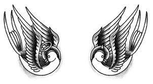 Risultati immagini per tattoo rondinella  sui piedi
