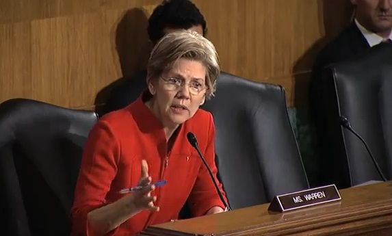 Senator Warren To Banking Committee, 'When Did You Last Take A Wall Street Bank To Trial' (VIDEO)