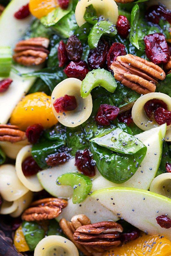 Sweet vinaigrette pasta salad recipe