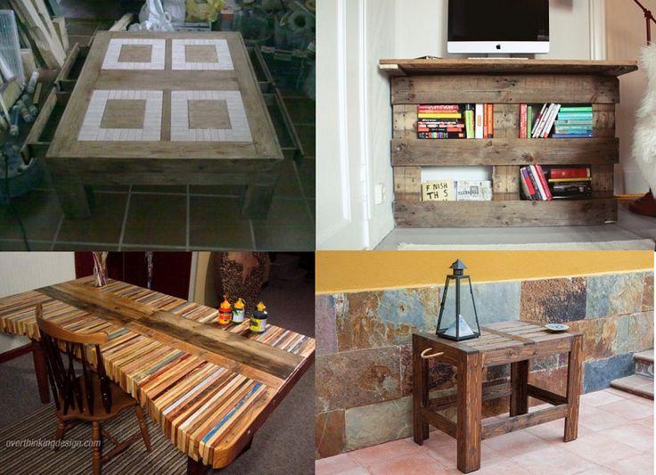 mesas fabricadas con palets no os lo perdis