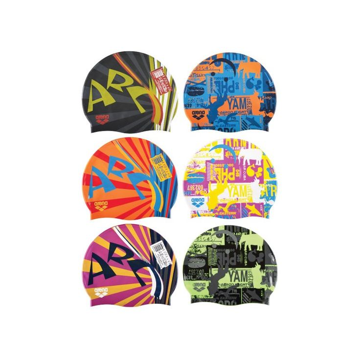 Cuffie Arena Print coloratissime! #cuffie #nuoto #piscina #allenamento #training #arena #arenawaterinstinct #swimmingcap