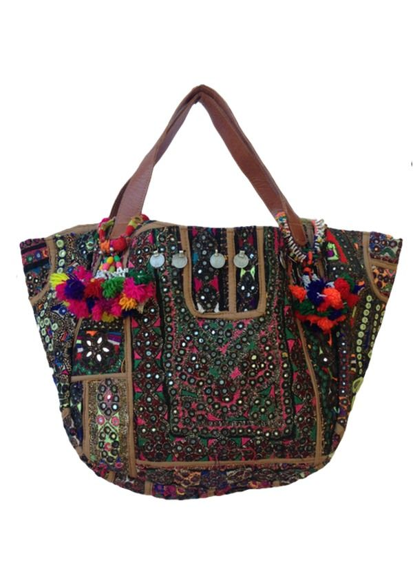 Karma East - Vintage Banjara Gypsy Bag 3