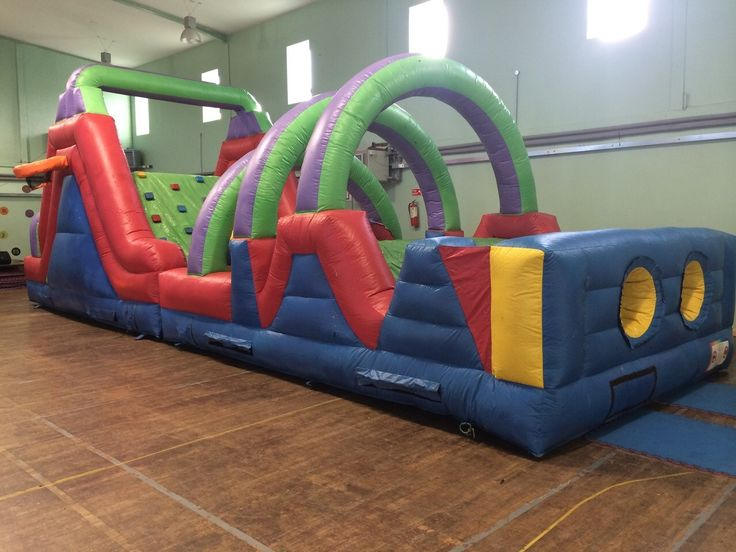 Indoor Outdoor Obstacle Course