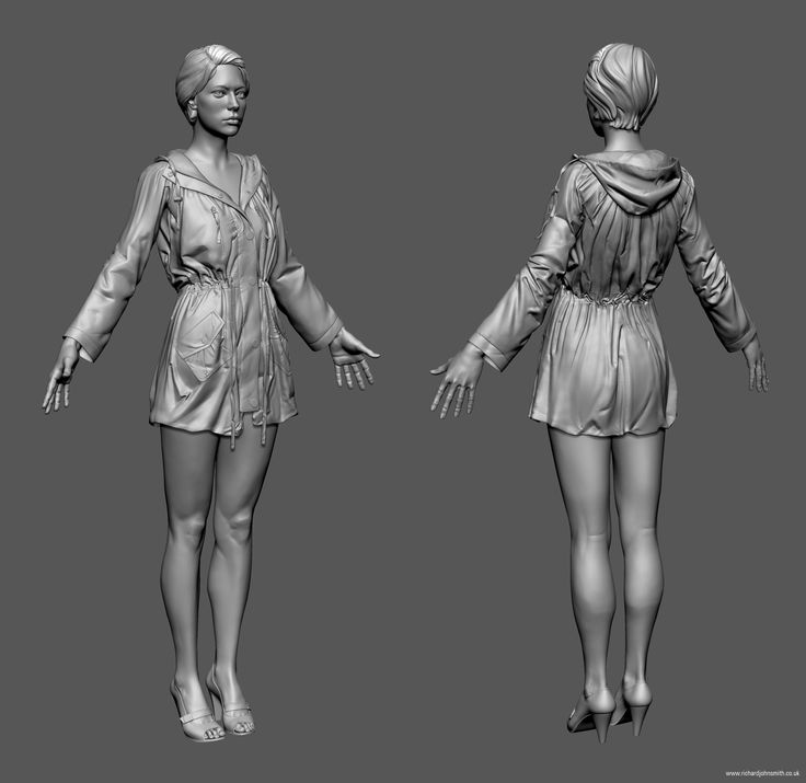 Amy - Game Character - Polycount Forum