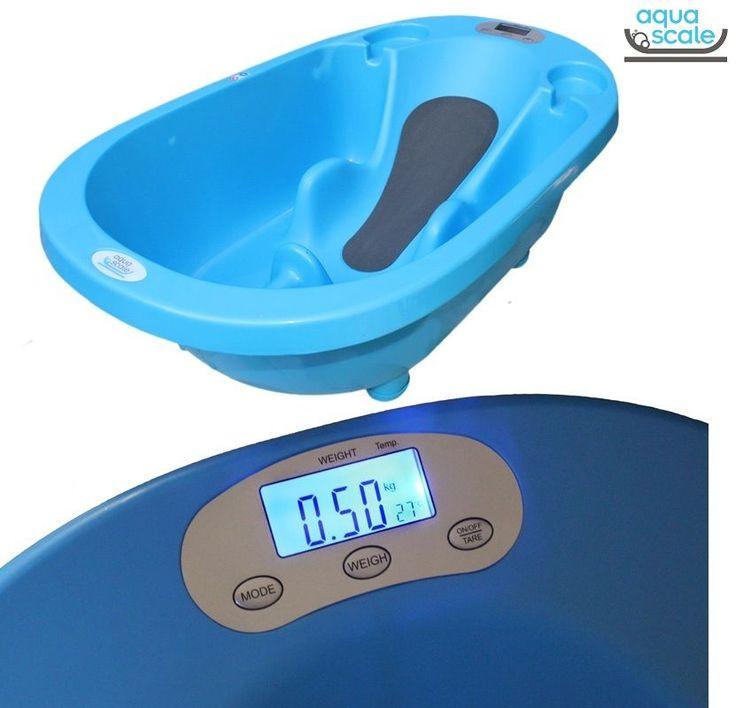 Aqua Scale Tartılı Termometreli Akıllı Bebek Küveti Mavi  #bebek #alışveriş #indirim #trendylodi  #anne #bebekbakım #bebekbanyoürünleri #bakım #banyo