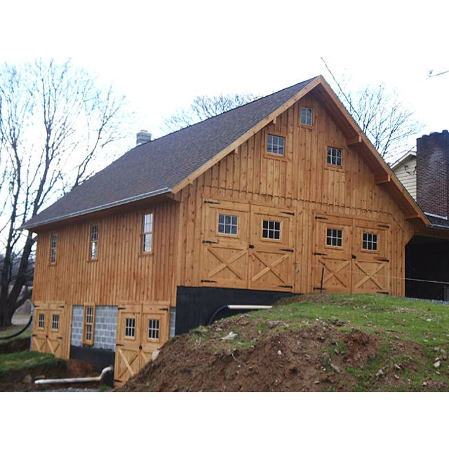 Reisterstown Md Bank Barn With Garage: Barn Attached To House Via Breezeway...