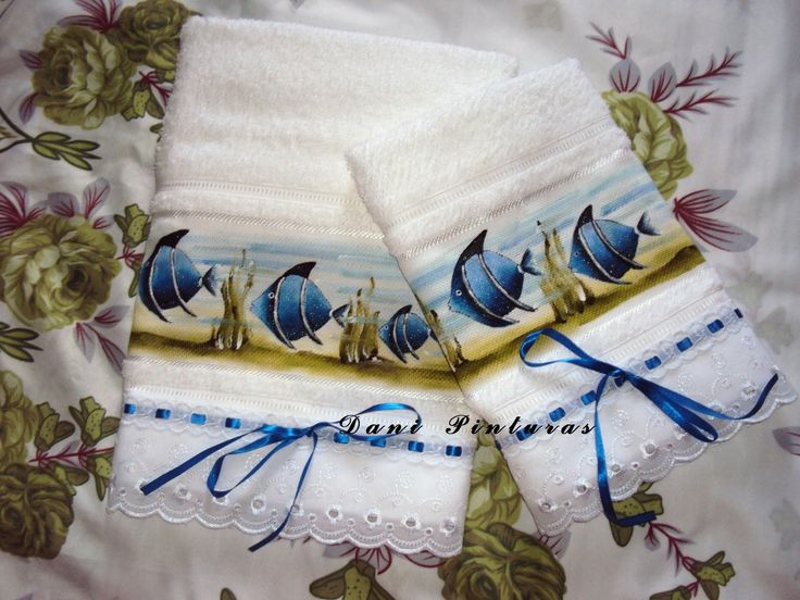 toalhas pintadas                                                                                                                                                                                 Mais