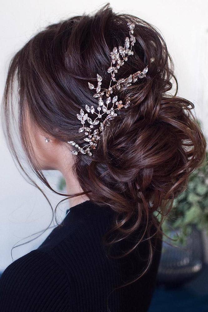 30 Elegant Wedding Hairstyles For Gentle Brides | Page 10 of 11 | Wedding Forward