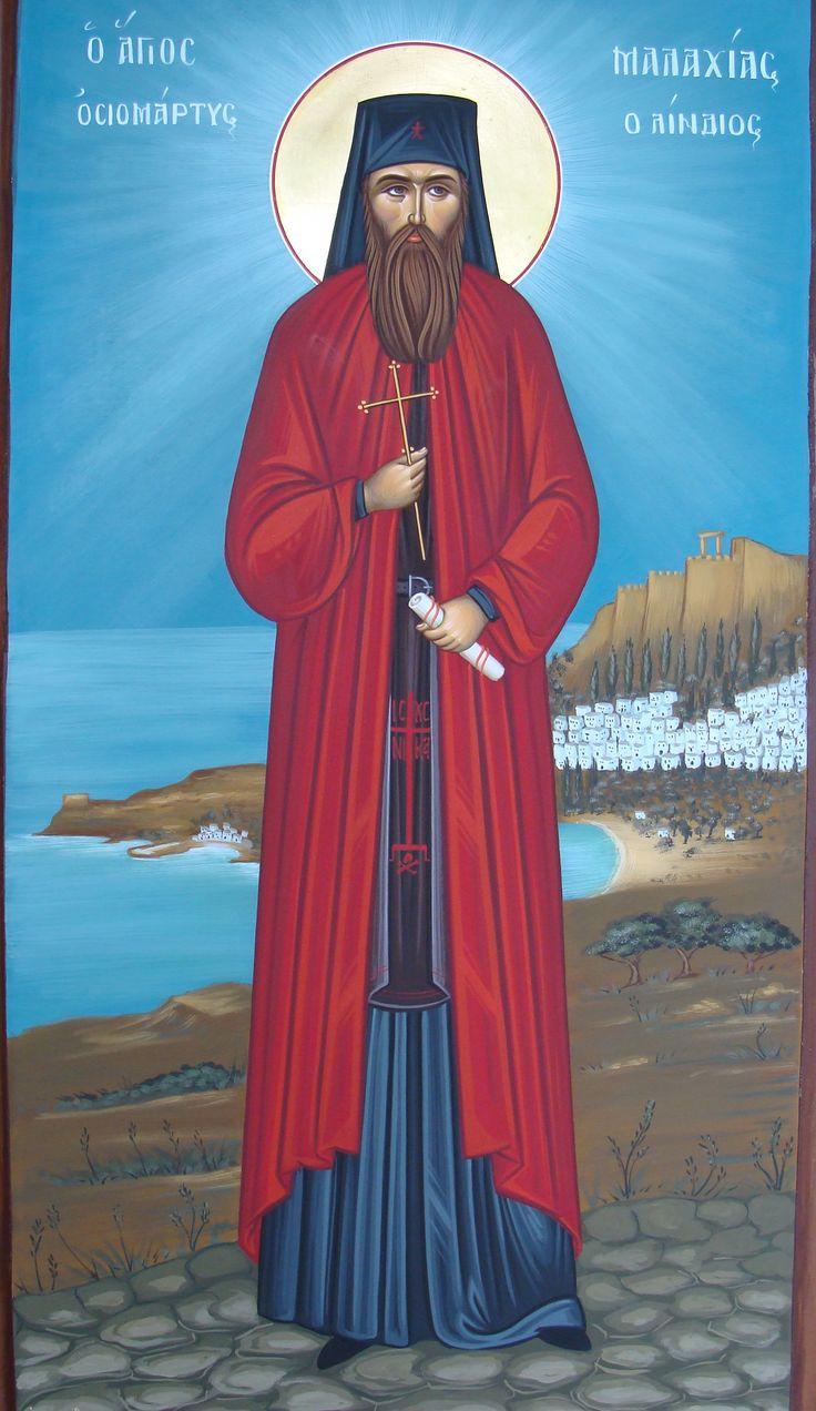 Ο Άγιος Μαλαχίας ο Λινδίος, St. Malachias