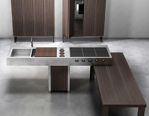 Open Kitchen Design by Lando - Ethos