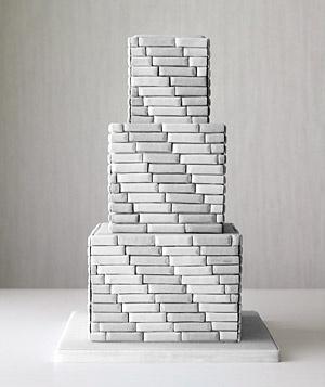 masculine tiered cake