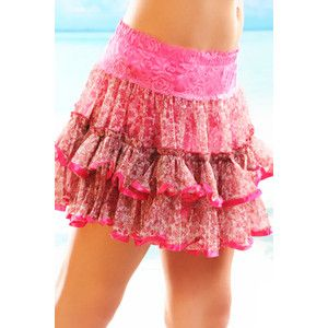 FUCHSIA FLORAL PRINT LACE CHIFFON 2 TIER RUFFLE SKIRT @ Amiclubwear Clothing Skirts Online Store:Long Skirt,Mini Skirts,Poodle Skirt,Plaid Mini Skirt,Micro Mini Skirt,Jeans Skirts,Black Mini Skirt,Up Skirt,Short Skirts,Leather Skirts,Pencil Skirts,High Wa